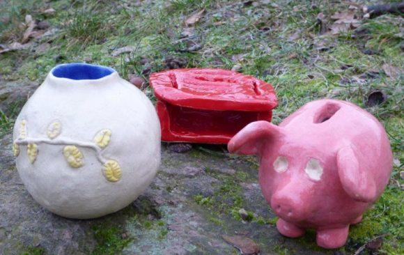 Produkte aus der Keramikwerkstatt – Wahlpflichtkurs 7